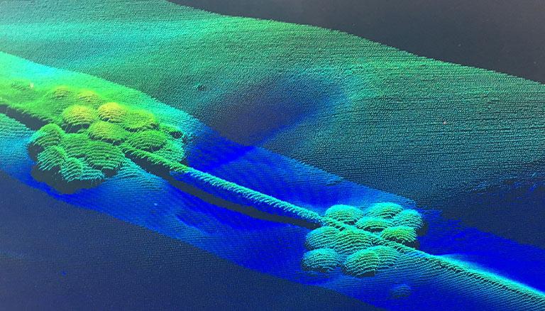 Beispiel Flussvermessung und Kartographierung von Tauchservice Siemon aus Trier