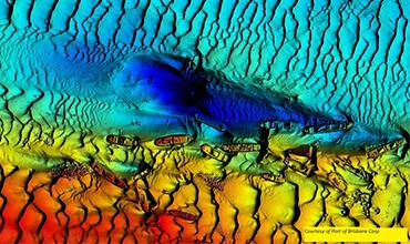 Flussvermessung und Kartographie mit dem Fächerecholot